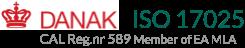 Eupry Iso17025 Danak logo